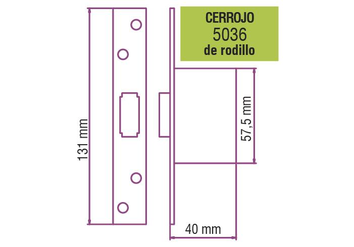 elisil_cartel_de_cerraduras_5036 Cerrojo de Rodillo