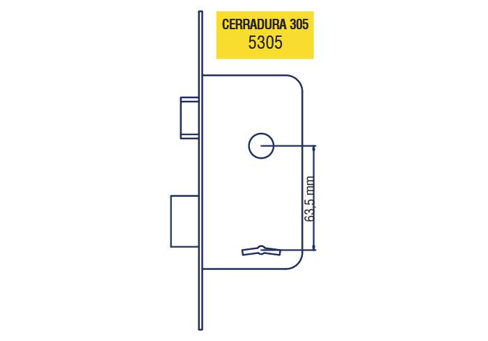 elisil_cartel_de_cerraduras_5305 Cerradura 305